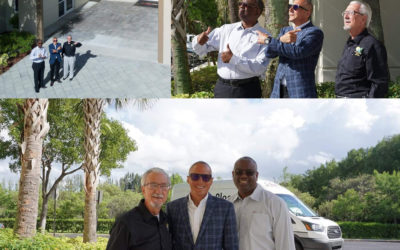 Frank Torre hosts local dignitaries and business leaders to tour PuroClean's Tamarac Offices.